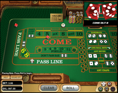 learn how to play casino craps
