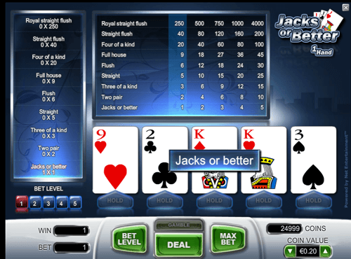 play videopoker