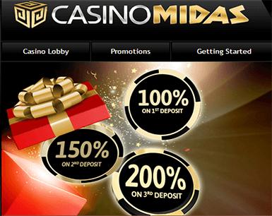 Midas australia casino online