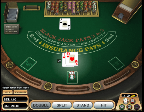 Blackjack Play Online Backjack Al Casino Online Australia